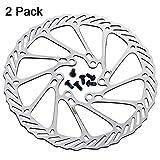 Bicycle Disc Brake Rotor Bike Disc Brake Rotors with Bolts 160mm/180mm for MTB Mountain Road Bike