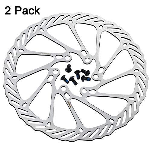 2x 160mm Floating Disc Brake Rotor MTB Mountain Bike Brakes Rotors Replacement