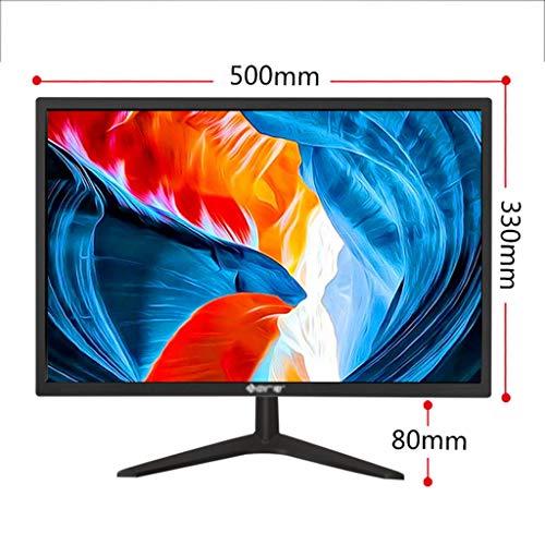 Monitor Full HD de 24 Pulgadas, Monitor ultradelgado de Montaje en Pared / 1920 x 1080/2 ms Tiempo de Respuesta / 60Hz / Sin Parpadeo, luz Azul Baja/para Oficina en casa (Size : 22in)