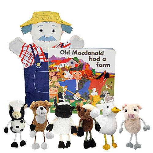 Vieux Macdonald Lot de livre et Marionnette
