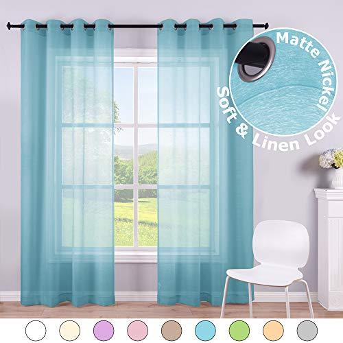 cortinas habitacion infantil niño azul
