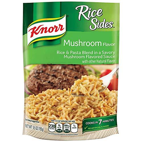 Knorr Rice Sides Dish, Mushroom, 5.5 oz Pack of 8