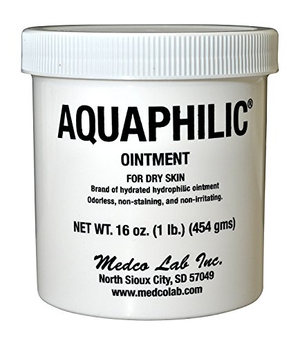 Aquaphilic Ointment For Dry Skin Hydrated Hydrophilic Odorless Non-Staining Non-Irritating