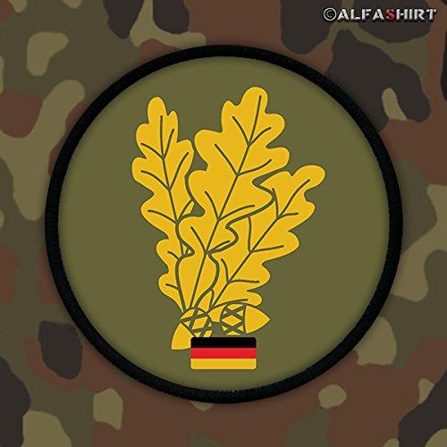 Copytec Patch/Aufnäher -Jäger Truppe Bundeswehr Deutschland Eichenblätter Militär Wappen Abzeichen #12463