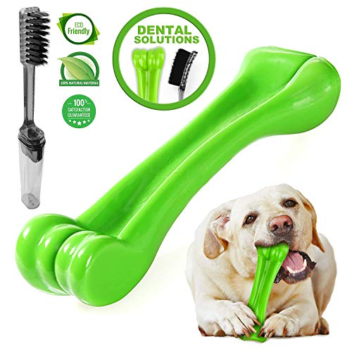 Durable Dog Chew toys-oneisall Bone Chew Toy per aggressive chewers- indistruttibile cucciolo...