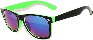 Retro Vintage Two -Tone Sunglasses Mirror and Smoke Lens...