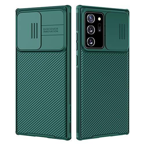 Nillkin Samsung Galaxy Note 20 Ultra Case, CamShield Pro Series Case with Slide Camera Cover, Slim Stylish Protective Case for Samsung Galaxy Note 20 Ultra 5G - Dark Green