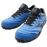 安全靴 ミズノ mizuno F1GA1900 オールマイティTD11L 紐タイプ 27.0 27ブルー×ブラック