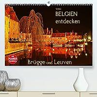 Belgien entdecken - Bruegge und Leuven (Premium, hochwertiger DIN A2 Wandkalender 2022, Kunstdruck in Hochglanz): Juwelen mittelalterlicher Baukunst (Geburtstagskalender, 14 Seiten )