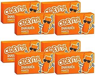Cedevita Multivitamin Fruit Candies 2.0 oz, Orange/Lemon/Forest Fruit Flavor 9 Vitamins (Orange, 8)