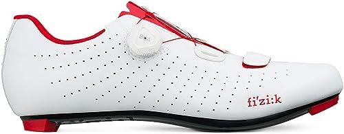 Fizik Tempo Overcurve R5 Chaussures de Cyclisme Blanc Rouge Rouge Rouge 39 EUR 88e