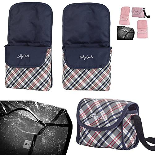 Daisy Chain Pack d'accessoires pour poupées Zipp Twin (Classic Check)