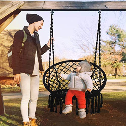 USLuxury Swing Chair Swing Hand Made Swing Chair Prefect for Indoor Outdoor Hammocks