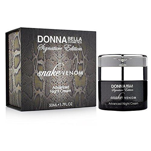 Donna Bella Cosmetics - Crème de nuit avancée Venin de serpent