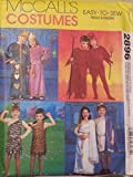 McCall's Pattern 2896 One Size Children's, Boys' and Girls' Tunic Costumes