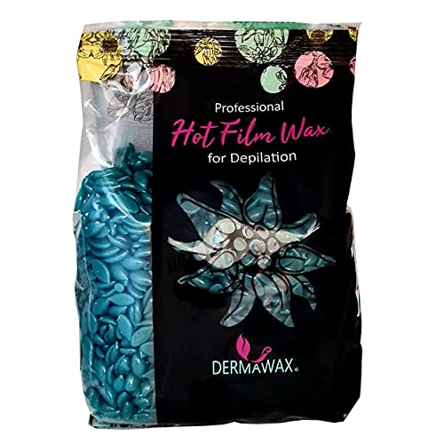 Azulen Film Wax- Perlas de cera caliente para depilación de cuerpo entero, 500 gramos