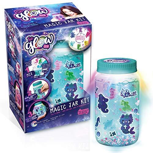 Canal Toys Kit de tarro So Glow DIY Magic Jar (botes de la calma), multicolor (SGD 002) , color/modelo surtido