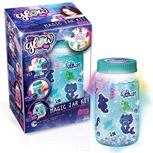 Canal Toys Kit de Tarro So Glow DIY Magic Jar (Botes de la Calma), Multicolor (SGD 002)