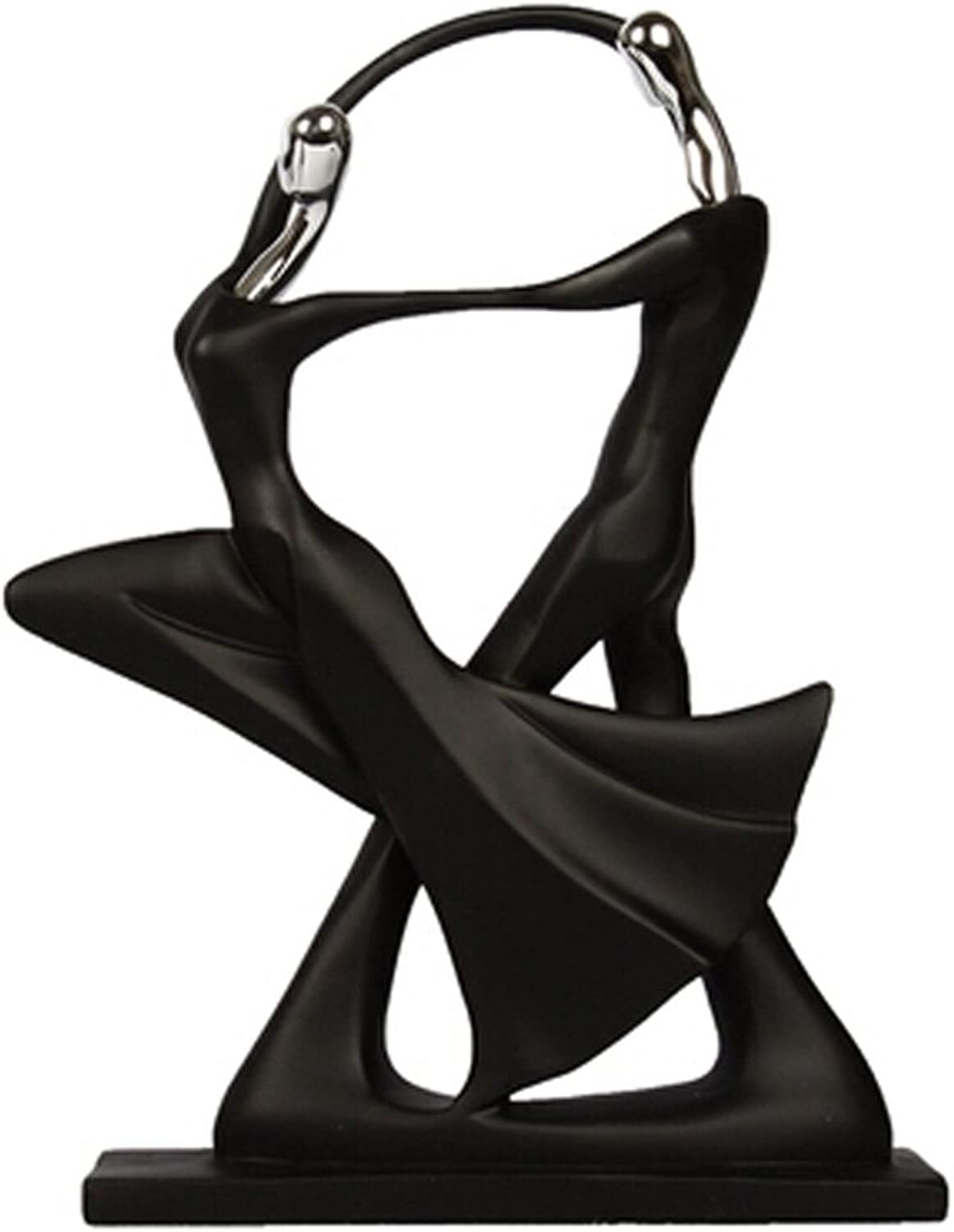 whiteho Modern Home Furnishings Ornaments Dancer Minimalist Decorations, No.1
