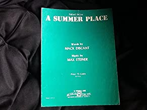 Theme from A Summer Place: Piano Solo (sheet music)