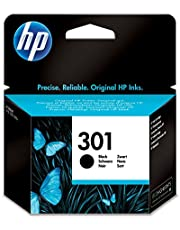 HP CH561EE 301 Original Ink Cartridge, Black, Single Pack
