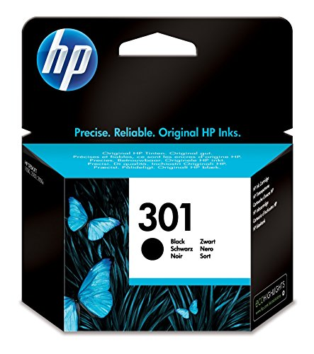 HP CH561EE 301 Original Ink Cartridge, Black, Single Pack