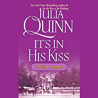 It's in His Kiss audiobook cover art