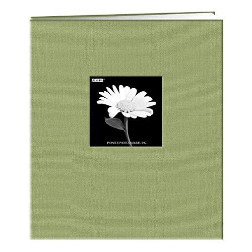 Pioneer Fabric Frame Post Bound Scrapbook 8.5