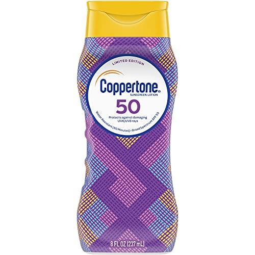 Coppertone Limited Edition ULTRA GUARD Sunscreen Lotion Broad Spectrum SPF 50, 8 fl. oz.