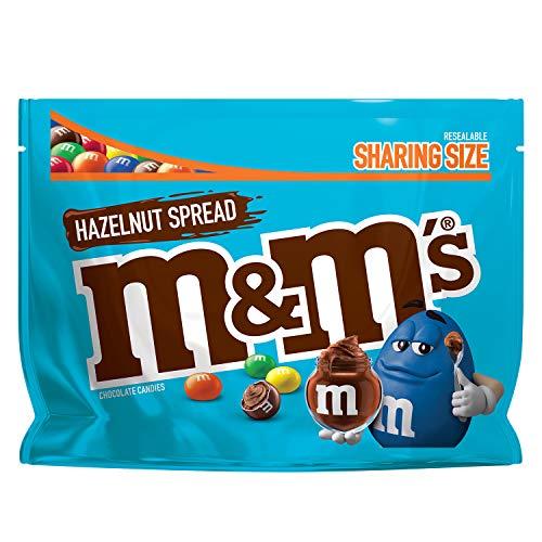M&M's Hazelnut Spread Chocolate Candies 8.30 Oz Sharing Size
