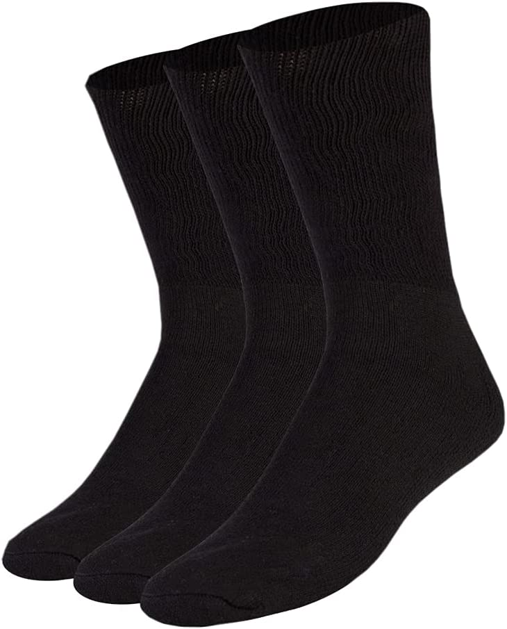 Premium Cotton Diabetic Loose Black Large Top All items free shipping Socks Ranking TOP12