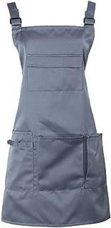 Nanxson Adjustable Women Bib Apron Multi Function Professional Salon Stylist Work Apron with Tool Pockets CF3010