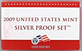 2009 S U.S. Mint 18-coin Silver Proof Set - OGP box & COA Proof