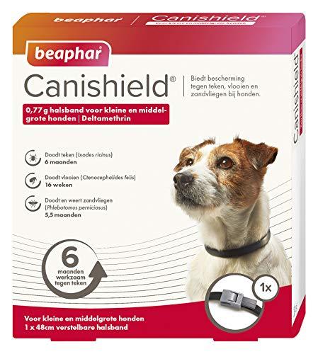 Beaphar Canishield Halsband voor kleine en Middelgrote hond 1 x 48 cm Band