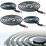 Stove Burners MP22YA Electric Range Surface Burner Coil Unit Set - 2 pcs MP15YA 6' and 2 pcs MP21YA 8' Replacement for Hardwick/Jenn Air/Kenmore/Maytag/Norge/Whirlpool Electric Range Stove