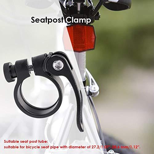 ahomi Bike Seat Post Tube Clip - Schnellspanner aus Aluminiumlegierung - für Rennräder Fahrradsitze - 2