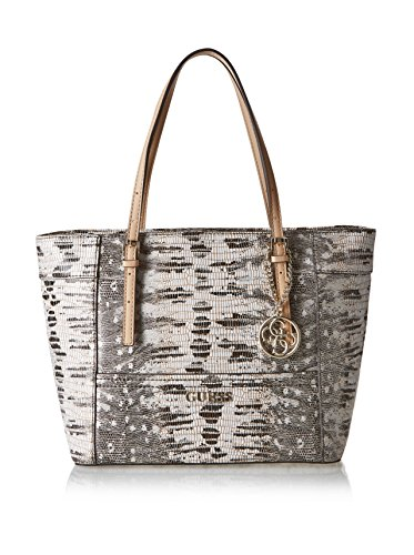GUESS Delaney Snake-Embossed Small Classic Tote
