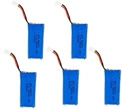 NC 5X 3.7V 500mAh Lipo Battery for for Hubsan X4 H107 H107L H107C H107D V252 JXD 385 RC Quadcopter