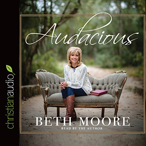 Audacious audiobook cover art