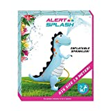 Alert Dino Kinder Dusche Wassersprinkler Dinosaurier Garten Wasser Fontäne