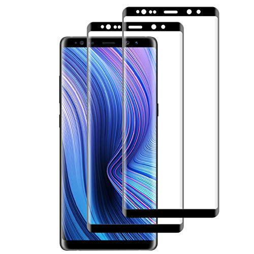 RIIMUHIR Panzerglas Samsung Galaxy Note 8, Anti-Fingerabdruck, Hohe Empfindlichkeit, Blasenfrei, Anti-Öl, Displayschutzfolie für Samsung Galaxy Note 8 2 Stück