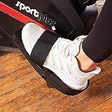 SportPlus Rudergerät für zu Hause, Klappbar, Leises Magnetbremssystem, Kugelgelagerter Rudersitz, Brustgurtkompatibel, Trainingscomputer, Nutzergewicht bis 150 kg, Sicherheit geprüft - 4