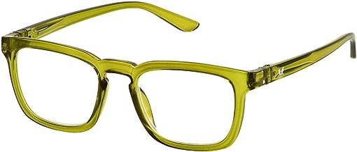 Bunny Eyez Harrison Wearable, Tilt-able, Flip-able Guyz Reading Glasses - Dark Green (+1.50)