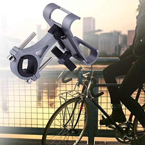 KUIDAMOS 360 ° Gire el Caucho de la aleación de Aluminio del Soporte del(360 Degree Rotation Silver)