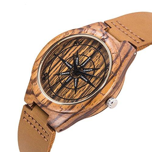 UWOOD UWST1008Zebra Compass