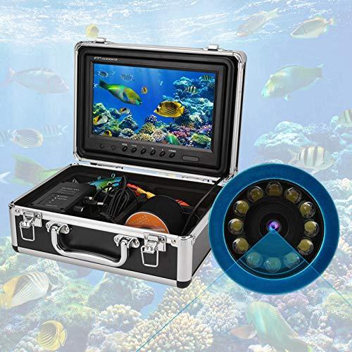 Shipenophy Kit de cámara de Video Fish Finder, Grabador de Pesca Submarino portátil de Moda Premium con 1 boya para Pescadores para Estanque de Peces para Lago(Normativas Europeas, Transl)