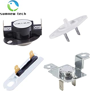 279973 Thermal Fuse & Thermostat, 8577274 Dryer Thermistor and 3392519 Thermal Fuse for Whirlpool Kenmore Dryers