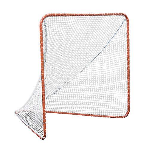 Kapler Regulation 6' x 6' Lacrosse Net with Steel Frame Portable Lacrosse Goal Collegiate Lacrosse Goals
