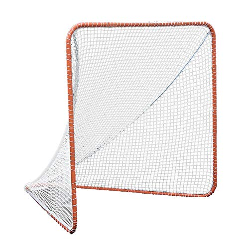 Kapler Regulation 6' x 6' Lacrosse Net with Steel Frame Portable Lacrosse Goal Collegiate Lacrosse Goals