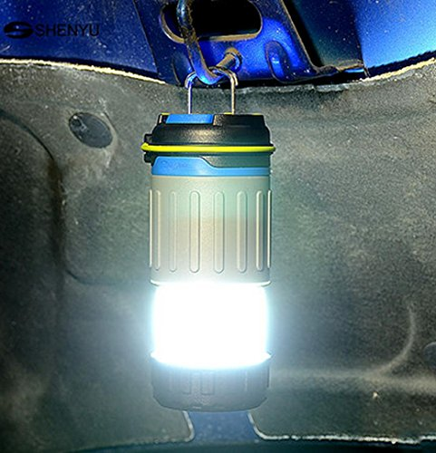 Jia&he Lampe de poche ultra lumineux suspendus polyvalent ¨¦clairage ext¨¦rieur u tente camp lampe lampe camping lampe led